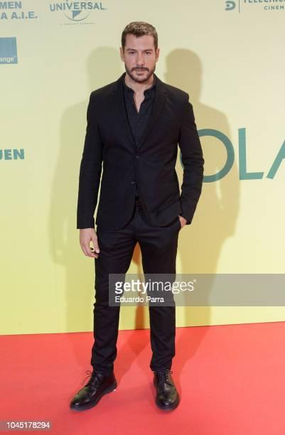 Alejandro Albarracin attends the 'Ola de crimenes' premiere at Capitol cinema on October 3 2018 in Madrid Spain
