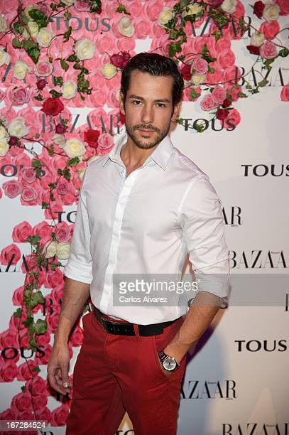 alejandro Albarracin attends the presentation of the new fragance 'Rosa' at the Ritz Hotel on April 23 2013 in Madrid Spain