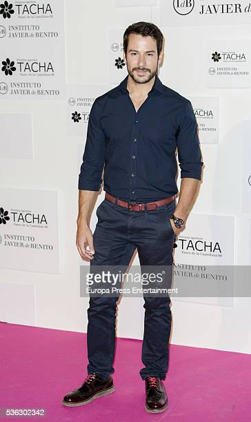 Alejandro Albarracin attends the Tacha Beauty and Javier de Benito Institute party on May 31 2016 in Madrid Spain