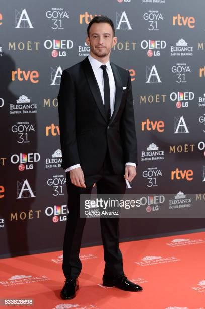 Alejandro Amenabar attends Goya Cinema Awards 2017 at Madrid Marriott Auditorium on February 4 2017 in Madrid Spain