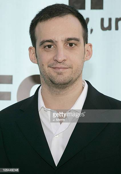 Alejandro Amenabar during 2005 IFC Spirit Awards After Party at Shutters in Santa Monica California United States