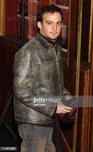 Alejandro Amenabar during 'The Last Samurai' Madrid Premiere Inside Arrivals January 08 2004 at Palacio de la Musica Cinema in Madrid Spain