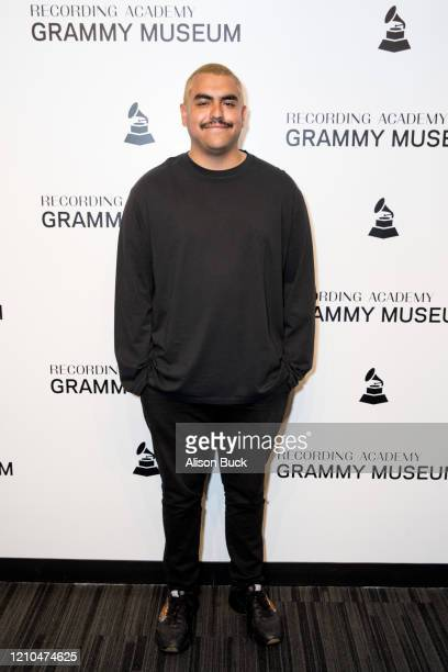 Alejandro Aranda of Scarypoolparty attends Homegrown Scarypoolparty at The GRAMMY Museum on March 04 2020 in Los Angeles California