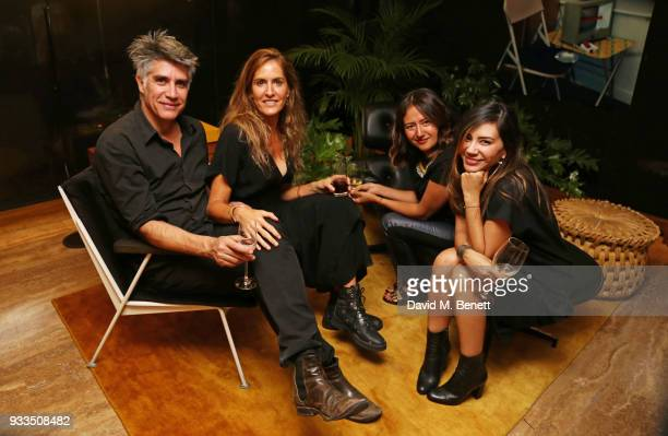 Alejandro Aravena and guets attend the Liberatum Mexico Festival 2018 Opening Night dinner at Museo de Arte Popular on March 16 2018 in Mexico City...