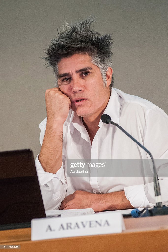 15. Venice Biennale 'Reporting From The Front' presentation With Curator Alejandro Aravena