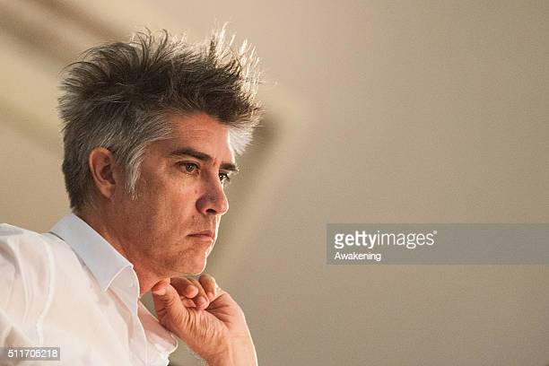 Alejandro Aravena curator of Venice Biennale 2016 attends at the conference presentation of the 15th edition of Biennale Architecture at Ca'...