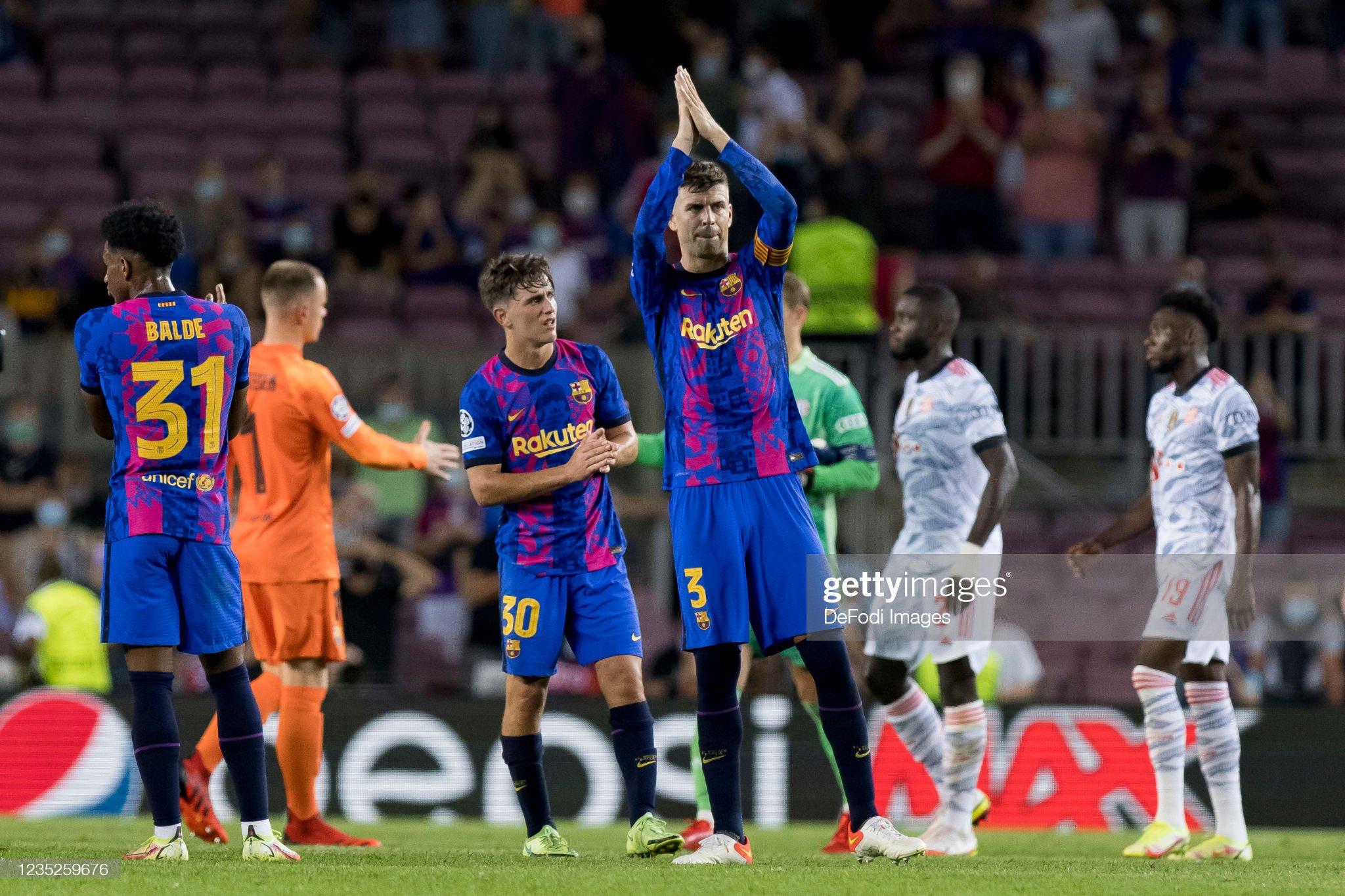 FC Barcelona v Bayern Muenchen - Group E - UEFA Champions League : News Photo