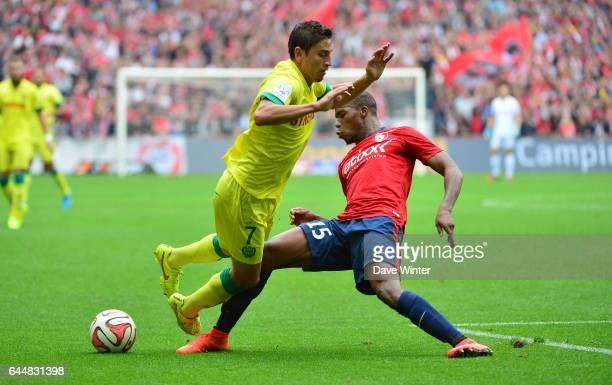 Alejandro BEDOYA / Djibril SIDIBE Lille / Nantes 5eme journee de Ligue 1 Photo Dave Winter / Icon Sport
