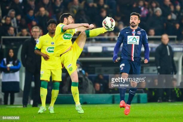 Alejandro BEDOYA / Ezequiel LAVEZZI Paris Saint Germain / Nantes 1/8Finale Cupe de France Photo Dave Winter / Icon Sport