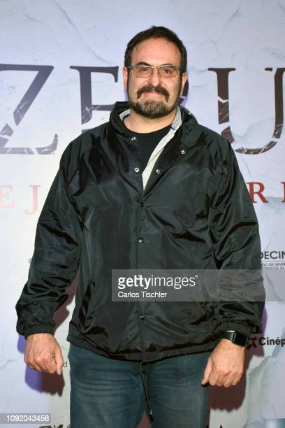 Alejandro Calva arrives at the red carpet premiere of 'Belzebuth' at Cinepolis Plaza Universidad on January 9 2019 in Mexico City Mexico
