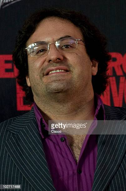 Alejandro Calva attends to the Knigth and Day movie premiere at Cinemex Santa Fe on July 72010 in Mexico City Mexico