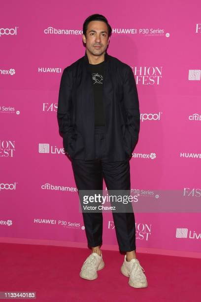 Alejandro Carlin attends the Liverpool Fashion Fest Spring/Summer 2019 at Quarry Studios on March 28 2019 in Mexico City Mexico