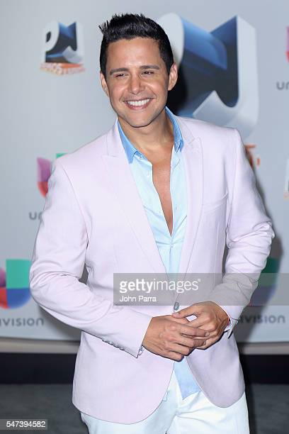 Alejandro Chaban attends the Univision's 13th Edition Of Premios Juventud Youth Awards at Bank United Center on July 14 2016 in Miami Florida