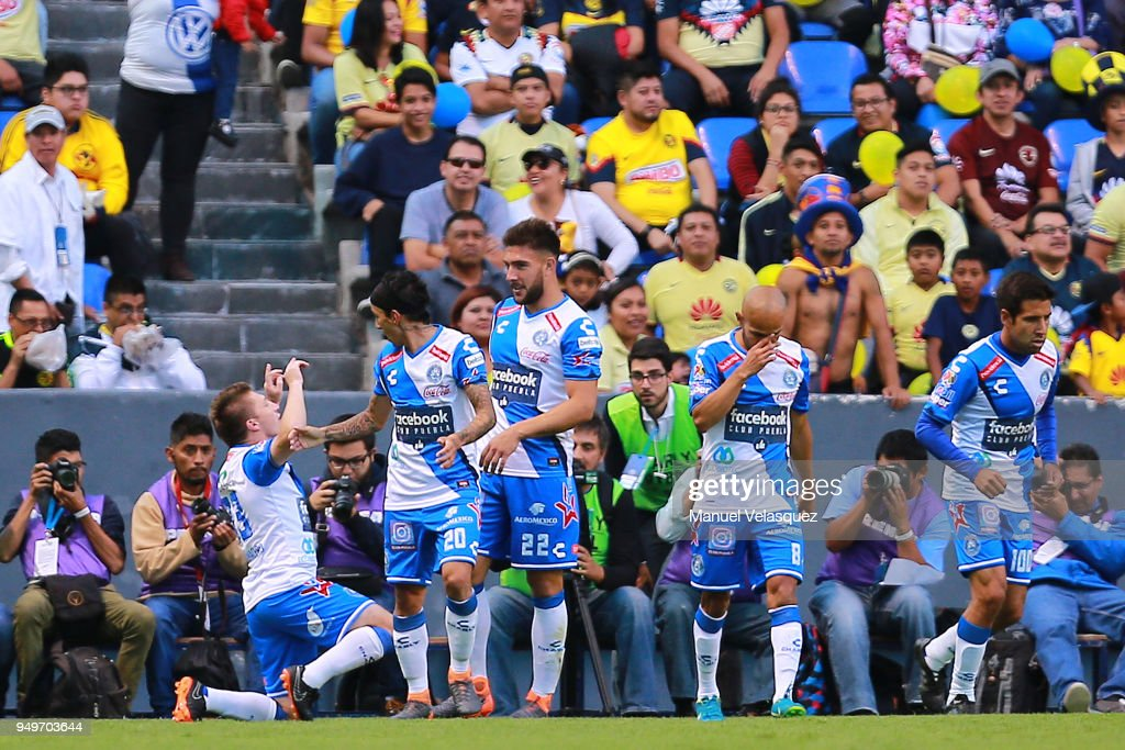 Puebla v America - Torneo Clausura 2018 Liga MX