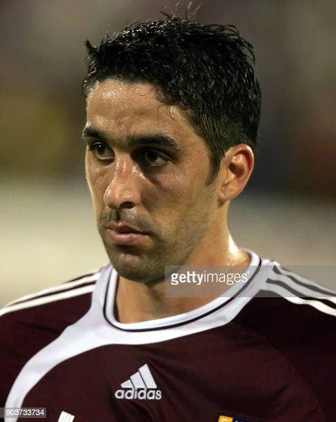 Alejandro Cichero of Venezuela's national soccer team / AFP PHOTO /