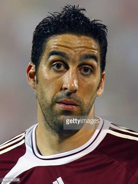 Alejandro Cichero player of the Venezuelan national football team in Maracaibo 07 June 2007 AFP PHOTO / AFP PHOTO /