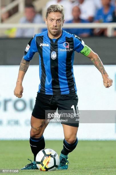 Alejandro Dario Gomez of Atalanta BC in action during the preseason friendly match between Atalanta BC and LOSC Lille at Stadio Atleti Azzurri...