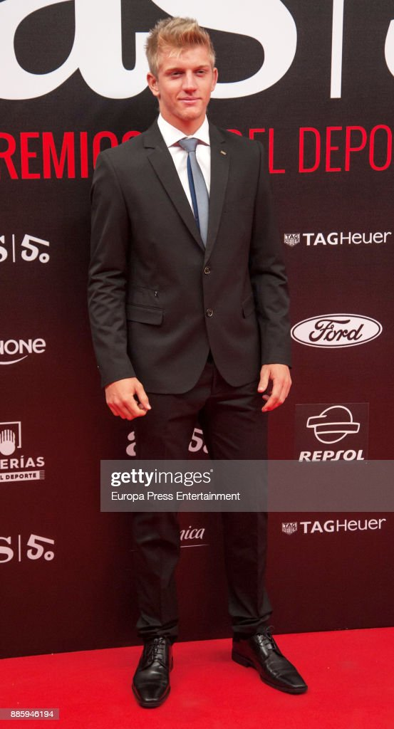 Alejandro Davidovich attends the 'As del Deporte' and 'As' sports newspaper 50th anniversary dinner at the Palacio de Cibeles on December 4, 2017 in Madrid, Spain.