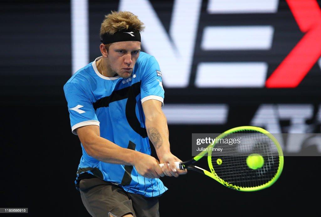 Next Gen ATP Finals - Day One : News Photo