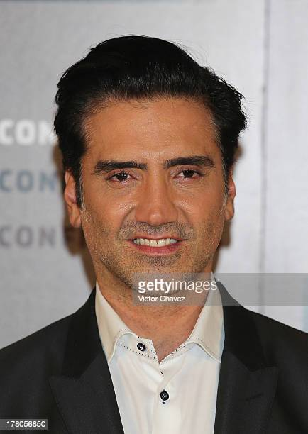 Alejandro Fernandez attends a photocall and press conference to promote his new album Confidencias at Museo Jose Luis Cuevas on August 26 2013 in...