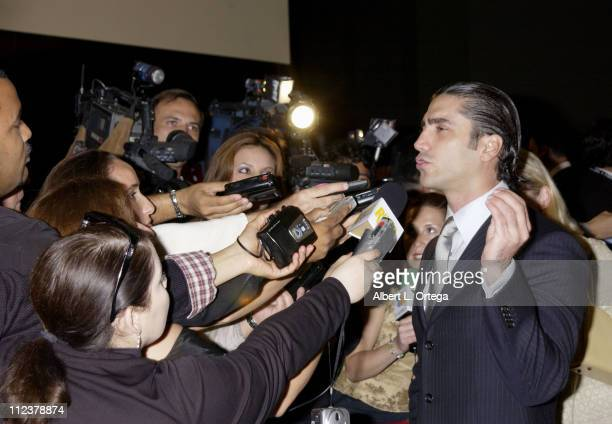 Alejandro Fernandez during 3rd Annual Latin GRAMMY Awards LARAS Person Of The Year Vicente Fernandez Arrivals at Kodak Theater in Hollywood...