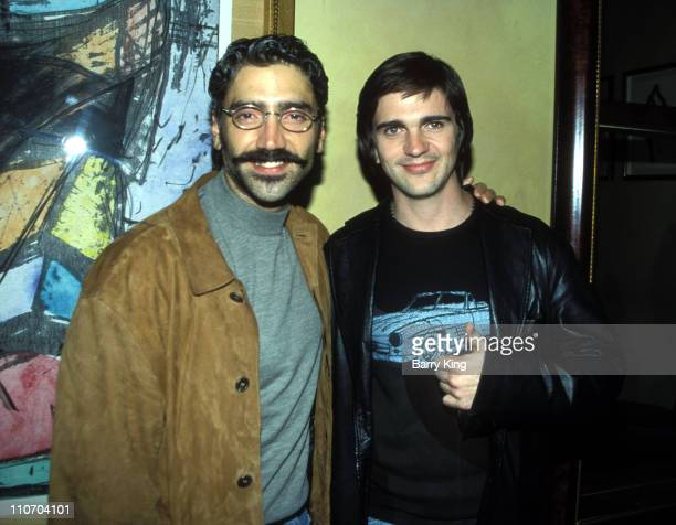 Alejandro Fernandez Juanes during Hispanic Broadcasting Company Dinner Party at Spago in Beverly Hills California United States