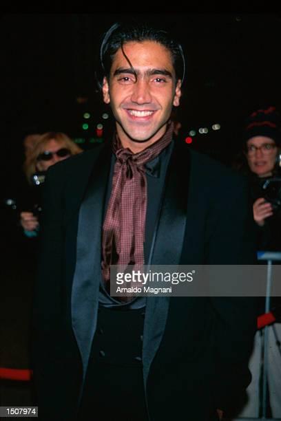 Alejandro Fernandez leaving the 1998 Grammy Awards February 25 NYC New York
