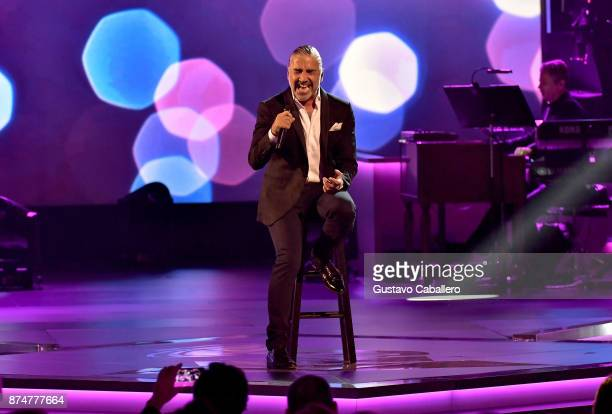 Alejandro Fernandez performs onstage during the 2017 Person of the Year Gala honoring Alejandro Sanz at the Mandalay Bay Convention Center on...