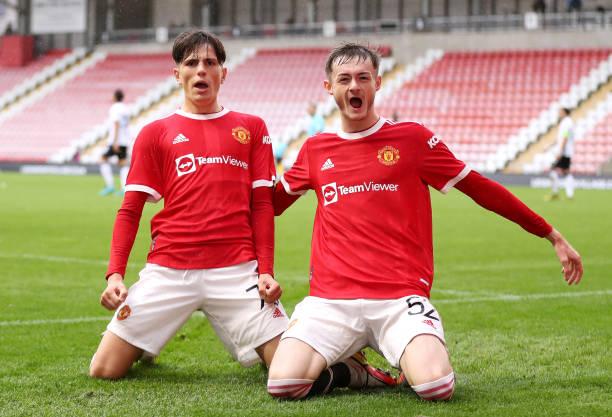 GBR: Manchester United v Atalanta: Group F - UEFA Youth League