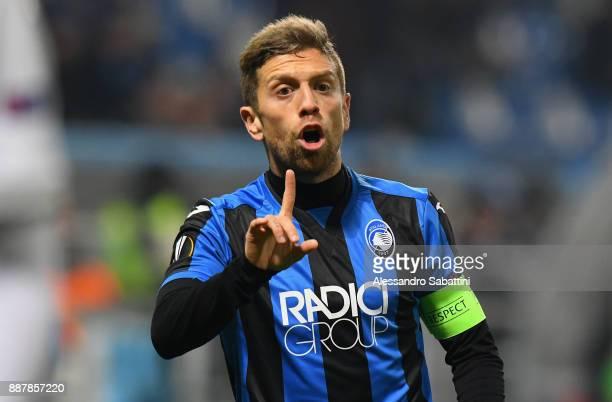 Alejandro Gómez of Atalanta gestures during the UEFA Europa League group E match between Atalanta and Olympique Lyon at Mapei Stadium Citta' del...