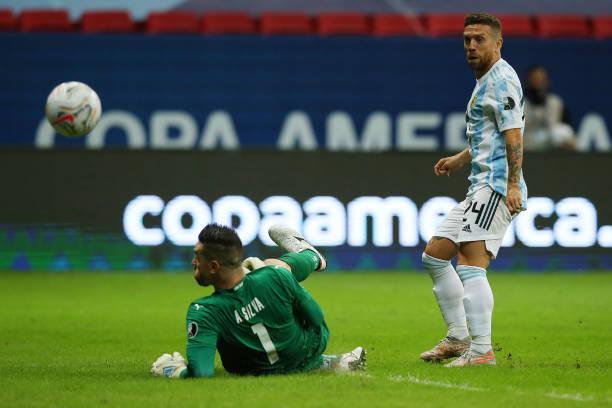 BRA: Argentina v Paraguay: Group A - Copa America Brazil 2021