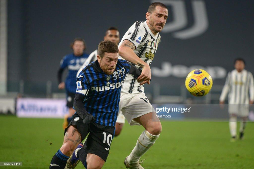 Juventus FC v Atalanta BC - Serie A : Nyhetsfoto