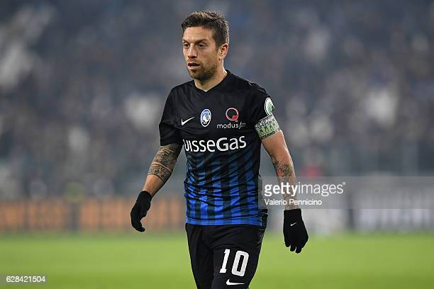 Alejandro Gomez of Atalanta BC looks on during the Serie A match between Juventus FC and Atalanta BC at Juventus Stadium on December 3 2016 in Turin...