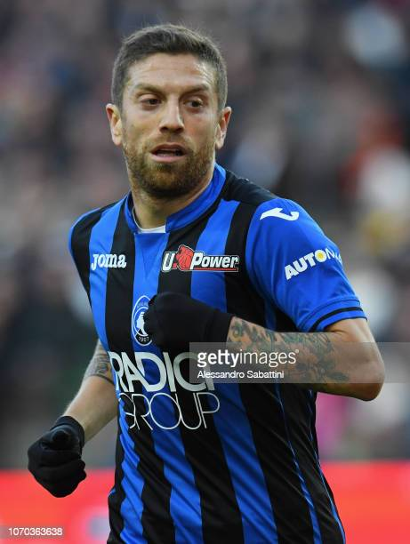 Alejandro Gomez of Atalanta BC looks on during the Serie A match between Udinese and Atalanta BC at Stadio Friuli on December 9 2018 in Udine Italy