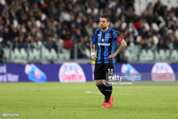 Alejandro Gomez of Atalanta Bergamasca Calcio during the Serie A match between Juventus Fc and Atalanta Bergamasca Calcio Juventus Fc wins 20 over...