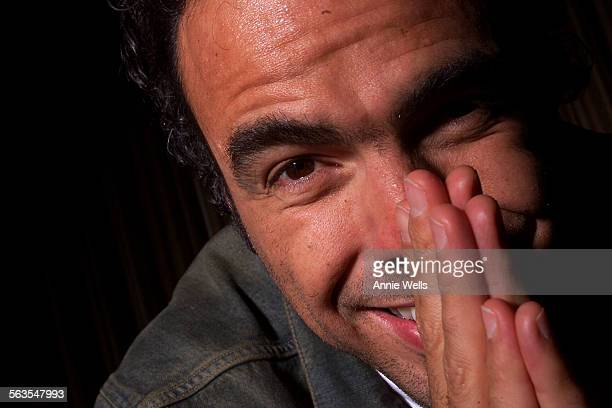 Alejandro Gonzalez director of the acclaimed Mexican film 'Amores Perros' during a portrait session at the Park Haytt Hotel in Century City