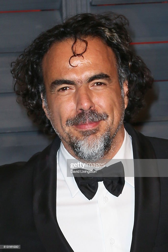 Alejandro Gonzalez Inarritu arrives at the 2016 Vanity Fair Oscar Party Hosted by Graydon Carter at the Wallis Annenberg Center for the Performing Arts on February 28, 2016 in Beverly Hills, California.