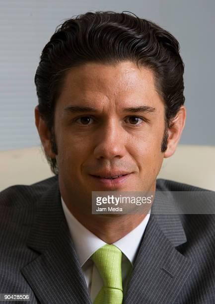 Alejandro Irarragorri Gutierrez President of the Club Santos Laguna poses for a portrait during a photoshooting session at the office of club Santos...