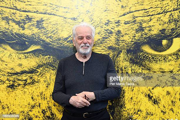 Alejandro Jodorowsky attends a photocall during the 69th Locarno Film Festival on August 12 2016 in Locarno Switzerland