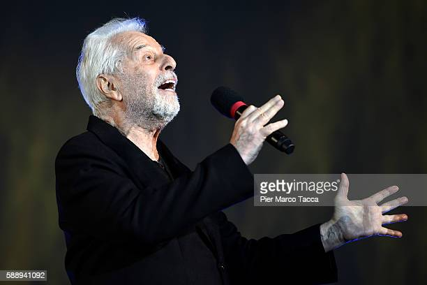 Alejandro Jodorowsky attends the Pardo of Honor during the 69th Locarno Film Festival on August 12 2016 in Locarno Switzerland