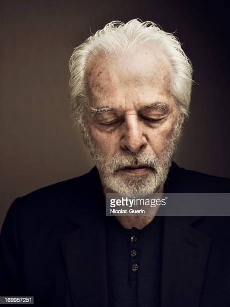 Alejandro Jodorowsky is photographed for Self Assignment on May 20 2013 in Cannes France