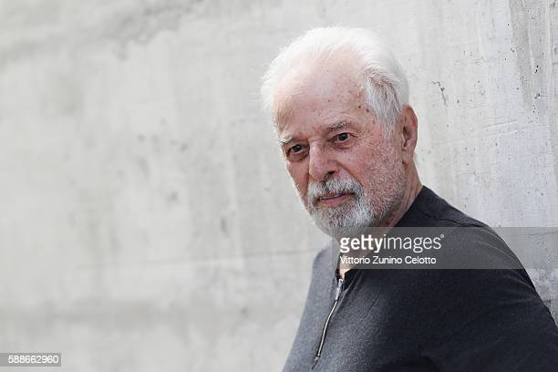 Alejandro Jodorowsky poses during the 69th Locarno Film Festival on August 3 2016 in Locarno Switzerland