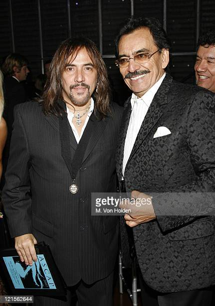Alejandro Lerner and Joan Sebastian during 15th Annual ASCAP Latin Music Awards Show at Nokia Theatre in New York City New York United States