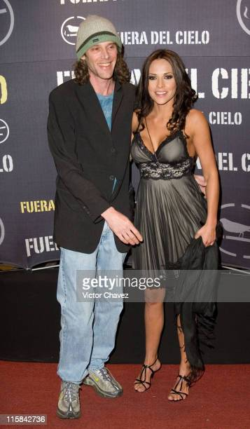 Alejandro Marcovich and Elizabeth Cervantes during Fuera Del Cielo Mexico City Premiere Red Carpet at Cinemex Antara in Mexico City Mexico City Mexico