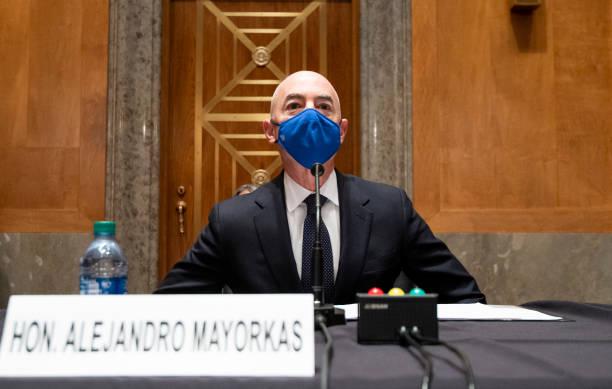 DC: Homeland Security Secretary Nominee Alejandro Mayorkas Testifies At Senate Hearing