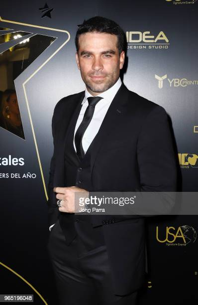 Alejandro Nones arrives at Premios Estrellas Digitales 2018 at James L Knight Center on May 31 2018 in Miami Florida