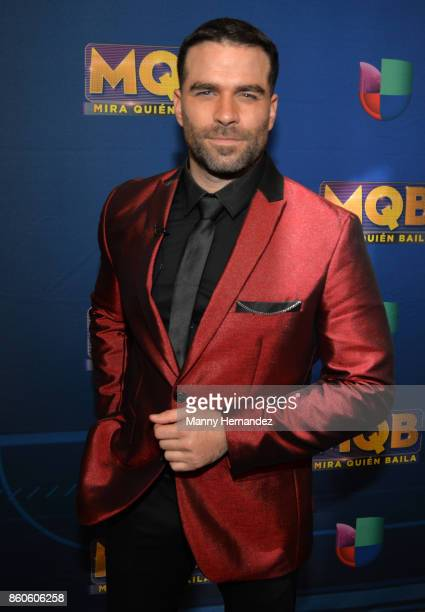 Alejandro Nones at Mira Quien Baila Week 4 at Univision Studios on October 8 2017 in Miami Florida