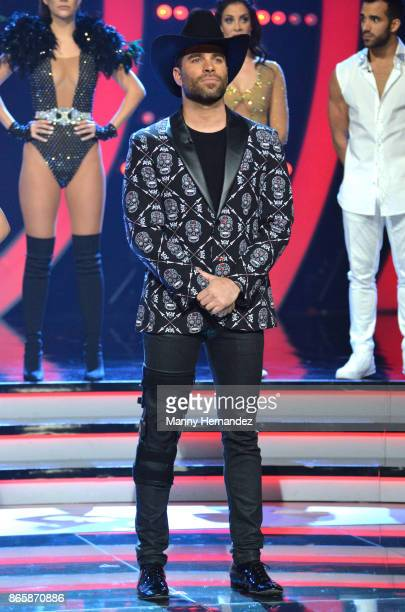 Alejandro Nones at Mira Quien Baila Week 6 at Univision Studios on October 22 2017 in Miami Florida