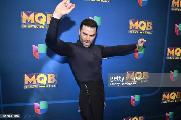 Alejandro Nones at taping for Mira Quien Baila at Univision Studios on October 1 2017 in Miami Florida