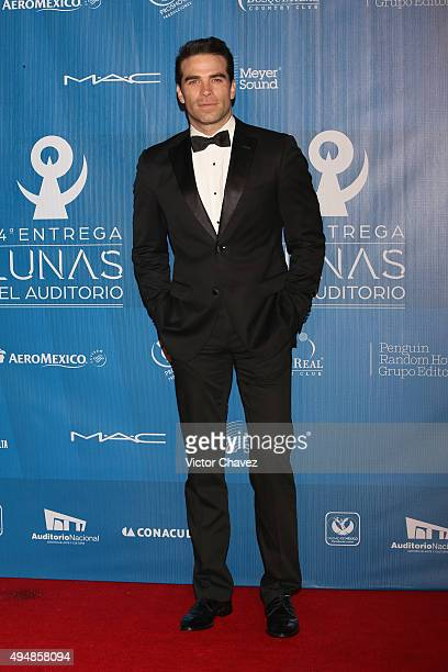 Alejandro Nones attends Lunas Del Auditorio Nacional 2015 at Auditorio Nacional on October 28 2015 in Mexico City Mexico